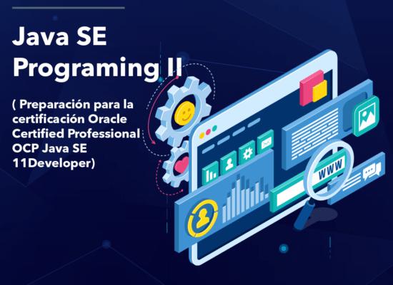 Curso Java SE: Programing II (Preparación para la certificación Oracle Certified Professional OCP Java SE 11Developer)